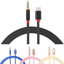 2017 USB-C Type C To 3.5mm Car AUX Cable For Google Pixel/XL Leeco Le Max 2/Pro 3 a laptop