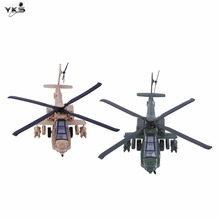 Hot!Alloy Military Helicopter Pull Back Light and Music Portable Playable Children Toys Gifts Airplane Propeller Plane New