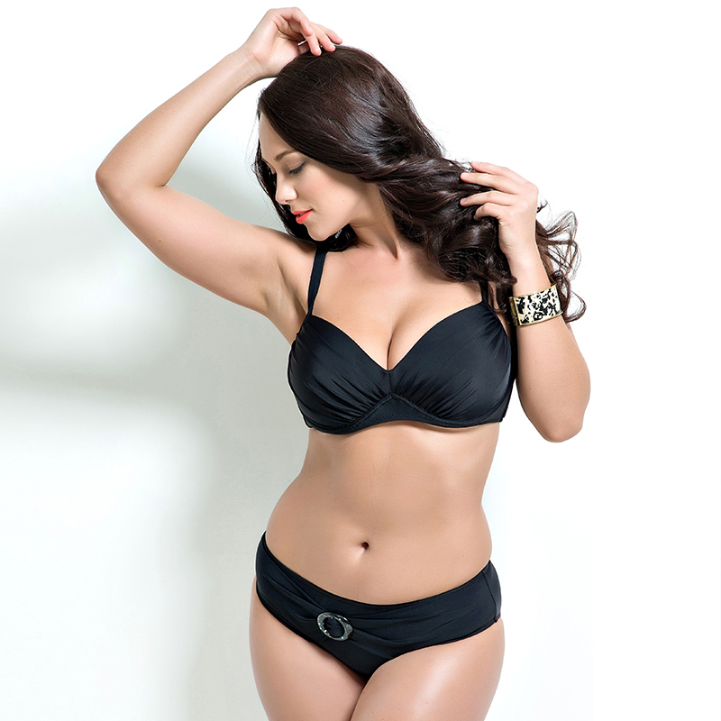 2017 New Sexy Bikini Swimwear Plus Size Biquini Low Waist Bathing Suit Push Up Female Swimsuit F1690<br><br>Aliexpress