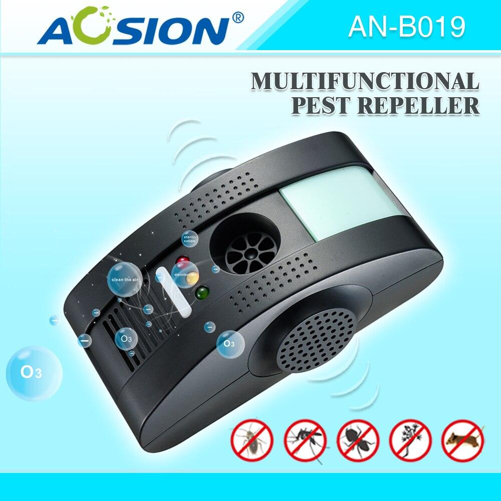 Многофункциональная дезинсекция отклоняет Электромагнитный waves+Anion+Ultrasonic с крысами мыши москитов ночника repeller