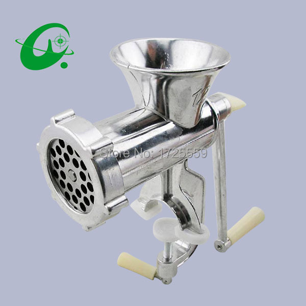 12# Manual meat grinder, Main aluminum alloy meat slicer use for mince and clyster, Two purpose<br>