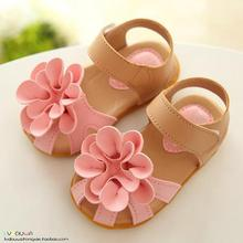Buy kids shoes 2018 new summer female children girls sandals flower PVC soft cute princess baby girls shoes fashion sandals 009 for $6.47 in AliExpress store