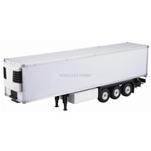 [HERCULES HOBBY] TAMIYA 1 14 Scale RC Model Tractor Trucks Trailer 40 Foot Reefer Made in China(China)