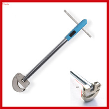 New Universal Rotate Multi Angle Adjustable Basin Wrench, Soft Tube Plastic Nut Wrench