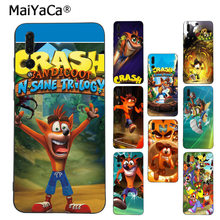 MaiYaCa Crash Bandicoot Coque Основа Чехол для телефона для huawei P9 P10 плюс Mate9 10 Mate10 Lite P20 Pro Honor10 View10(China)