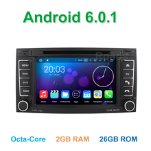 Octa Core Android 6.0 Car DVD GPS Radio for Volkswagen VW Touareg T5 Transporter Multivan with WiFi Bluetooth 2GB RAM