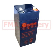 SLA sealed Lead Acid battery 4V 4Ah for Electronic Scales/Weight Swatter Ship from Moscow for Russia Customers RU