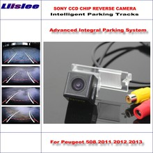 Buy Liislee HD CCD SONY Rear Camera Peugeot 508 2011 2012 2013 Intelligent Parking Tracks Reverse Backup / NTSC RCA AUX for $41.25 in AliExpress store
