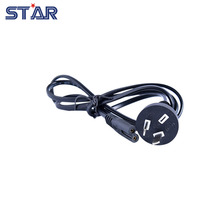 1pc AU Standard LED Power Supply Adapter Connect Plug Extension Silicone Wire, 1.2m Long Environmental PVC Electric Cord Cable