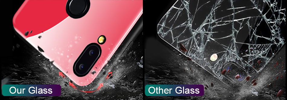 Gradient Glass Back Case For Huawei P20 Lite P Smart Plus Nova 3i Case Luxury Silicone Case For Huawei Honor 10 9 Lite 8X Coque (8)