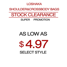 Loshaka Stock Clearance Women Shoulder Bag Super Promotions Messenger Bag as Low as $4.97