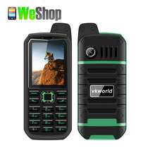 VKWorld Stone V3 Plus Mobile Phone 4000mAh Battey  2.4 inch IP54 Waterproof Elder Man FM Radio Dual SIM GSM   CellPhones
