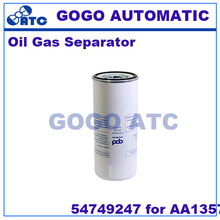 High quality Oil Gas Separator 54749247 for AA1357 Screw air compressor oil core air compressor(China)