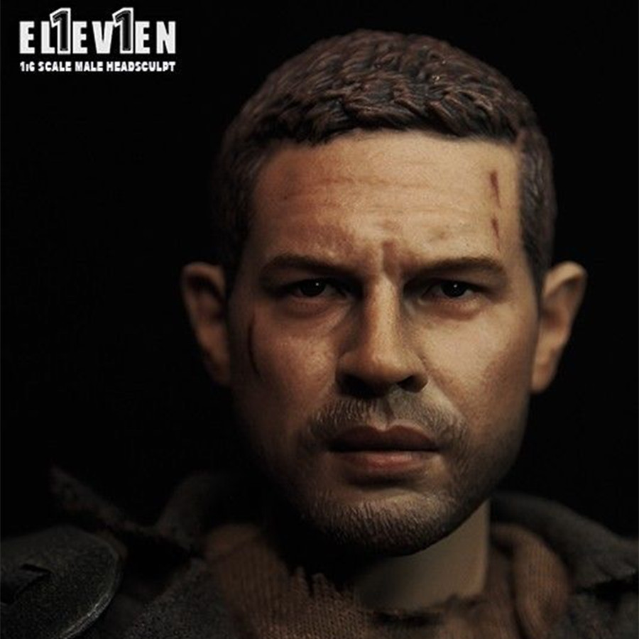 1/6 Mad Max Tom Hardy Head Sculpt For 12 Male Figure Body<br>