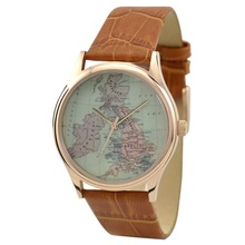 Vintage Map Watch (UK) - Free shipping worldwide - Welcome Wholesale(China)