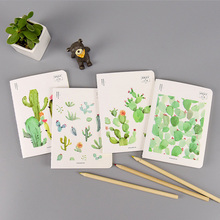 Plant  64K cactus notebook journal diary book planner hand books note pad for kids kawaii stationery