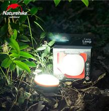NatureHike LED Outdoor Indoor Camping Light Remote Portable Lampshade Circle Tent Lantern White Light Campsite Hanging Lamp