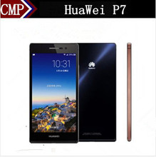"Original HuaWei Ascend P7 4G LTE Mobile Phone Kirin 910T Quad Core Android 4.4 5.0"" FHD 1920X1080 2GB RAM 16GB ROM 13.0MP"