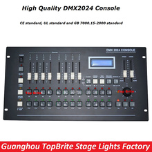 2017 New DMX 2024 Controller DMX 512 Stage Light Console DMX Lighting Controller LCD Display For LED Par Moving Head Beam Lights