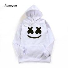 b288d54d1a92be 2018 winter New brand marshmello face Hoodies woman Men Casual Slim Fit Hoodies  Sweatshirt Sportswear Male