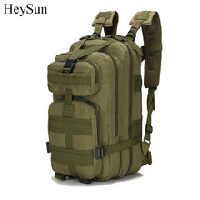 600D Nylon Military Tactical Backpack,Waterproof Molle Army Climbing Bag,6Color Outdoor Camping Hiking Hunting Backpack Rucksack(China)