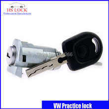 Hot Sale Auto Practice Lock for vw polo front door lock cylinder Volkswagen Car Locksmith Tools professional Locksmith Supplies