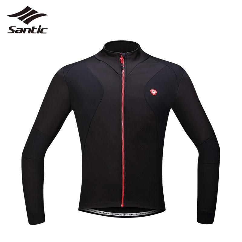 Winter Santic Men Cycling Jackets Windproof Thermal Fleece Bike Coat MTB Mountain Bicycle Jacket Size S-4XL Chaquetas Hombre <br><br>Aliexpress