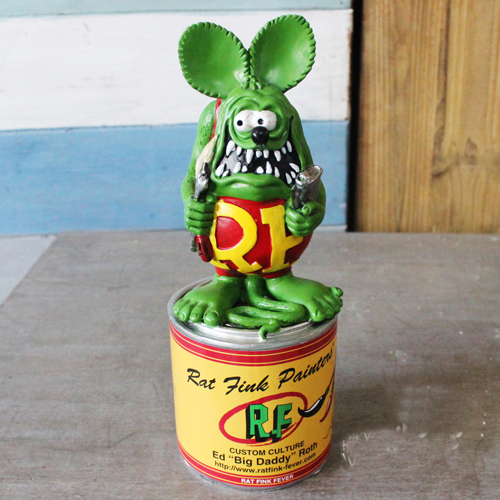 Vogue America Classic Cartoon Image Tales of the Rat Fink Resin Action Figure In New Box<br>