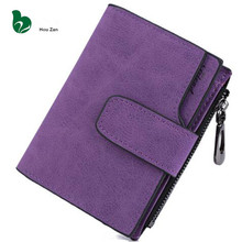 Short Leather Women Wallet Designer Famous Luxury Brand Perse Female Coin Purse Clutch Money Bag Walet Card Holder Cuzdan Vallet