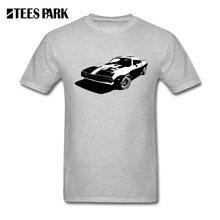 T Shirt Big Size Muscle Car Vector Graphics 80s Old Classic Car Man Crew Neck Short Sleeve Clothes Exercise Men's Men T Shirts