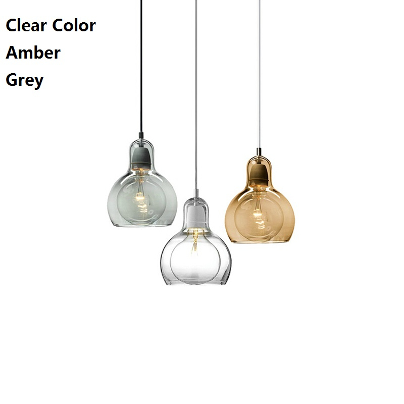 11/18cm Nordic Big Bulb Glass Abajur Pendant Lamps For Living Room American Art Pendant Lamp 110-220V Coffee Bar Hanglamp Modern<br><br>Aliexpress
