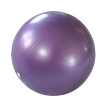 New Arrival Exercise Yoga Fitness Pilates ball 25cm Smooth Balance Fitness Gym Exercise Ball With Pump Balance Pilates Balls(China)