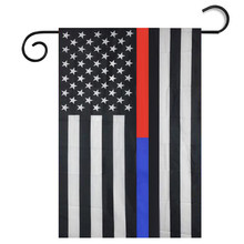 Hot 30*45cm Garden Flag Black White And Blue American Flag American Flag Vovotrade Envio Gratis and Wholesale(China)
