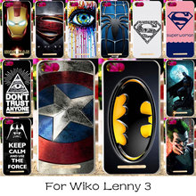 TAOYUNXI Silicon Plastic Phone Case For Wiko Lenny 3 Blu Dash X2 D110L D110U Jerry K-kool K kool III America Captain Cover Case(China)