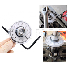 "360 Degree 1/2"" Drive Adjustable Torque Angle Gauge Meter Angle Rotation Measurer Tool Wrench Auto Repair Check Meter SK1049(China)"