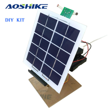 Aoshike 1 Sets Solar Panel Power Automatic Tracking Controller Mobile Charger Electronic DIY KITS