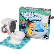 2017 New Super Fun Game Toys Toilet Trouble Mini Funny Toy For Parents Kids Friends Play Together Best Sales Gifts For Childrens