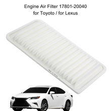 Car Auto Carbonized Carbon Cabin Air Filter Toyoto / for Lexus CA9360 17801-20040 Rigid Panel Engine Air Filter(China)