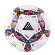 2017 New Brand Soccer Ball Size 3 Kids Children Play Sport Training PVC Football Ball sewing Free shipping Good quality gifts(China)