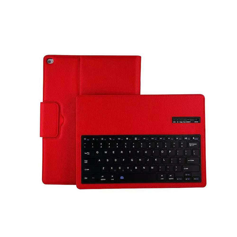 New For iPad Pro 12.9 Detachable Bluetooth Wireless Keyboard Leather PU Case Cover with Stand<br>