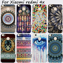 Cases For Xiaomi Redmi 4X 5.0 inch Cover Bags Hard Plastic Soft TPU Cell Phone Skin Dream Catcher Shell Hood Housing