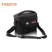 fosoto DSLR Camera Bag Case Cover Video Photo Digital photography Shoulder Nylon Bags For Dslr Sony Canon Nikon D700 D300 D200(China)