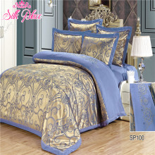 """Silk Place"" Fashion Quality Bedding Set Queen Size Jacquard Duvet Cover Bedsheet Pillowcase 4- 7pcs"