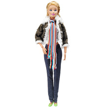 EING Doll Clothes Coat Pants Clothing Outfit Shoes Accessories for Barbie Dolls