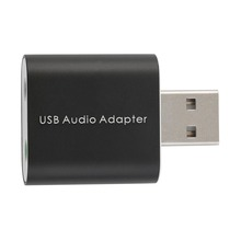 New External USB 2.0 7.1 CH Virtual Audio Sound Card Adapter Converter Notebook Wholesale Drop Shipping