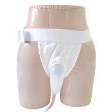 Free shipping male urine bag Bed breathable incontinence urine bag urine collector(China)