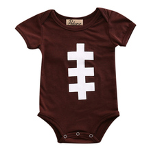 Hi Hi Baby Store Newborn Toddler Baby Girls Rugby Romper Jumpsuit Body Infant Outfit Sunsuit(China)