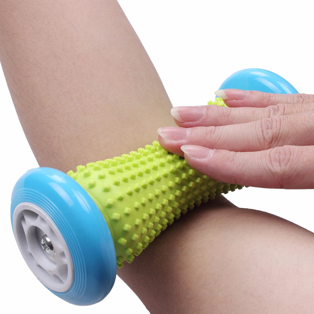 Foot Hand Massage Roller Trigger Point Deep Tissue Physical Therapy For Plantar Fasciitis Heel Foot Arch Pain Relief Yoga Fitness (7)