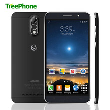 Gooweel M3 smartphone 6.0 inch QHD IPS screen MT6580 Quad core mobile phone 1GB RAM 8GB ROM 8MP camera GPS 3G cell phone Black(China)