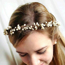 Bohemia Beach Flower Wedding Crown Hair Accessories tiara For Women Bridal Hair bands Bijoux Jewelry accesorio para el pelo